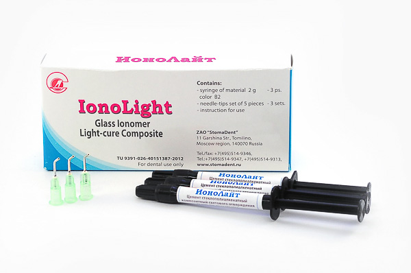«IonoLight» - light-cure composite glass ionomer
