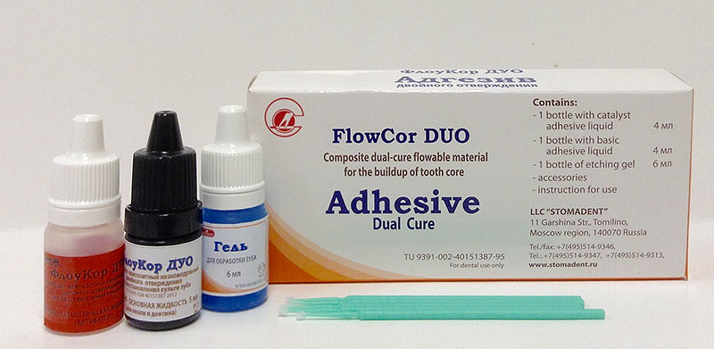 Dual-cure Adhesive for Enamel and Dentin